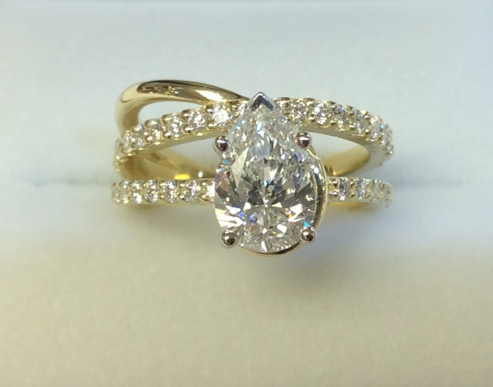Custom Engagement Rings: Creations of Love