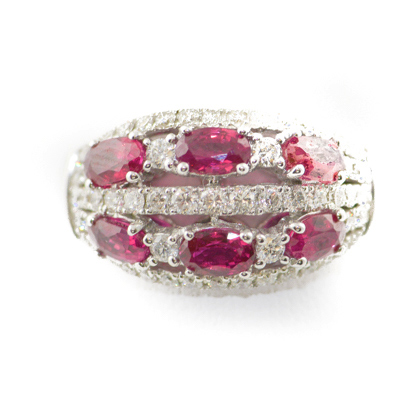 ruby and dimaond ring