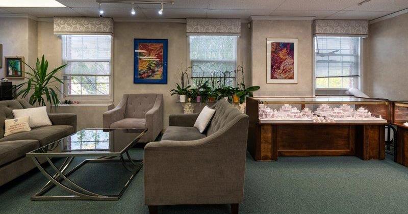 Barbara-Oliver-Jewelry Showroom