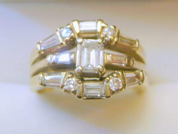 Vicky's Mom's Diamond Ring